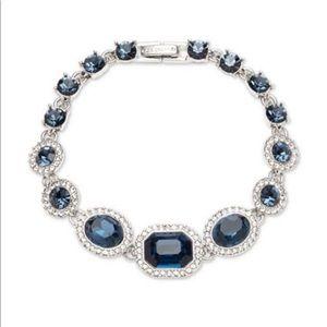 Givenchy Pavé & Stone Flex Bracelet - Blue